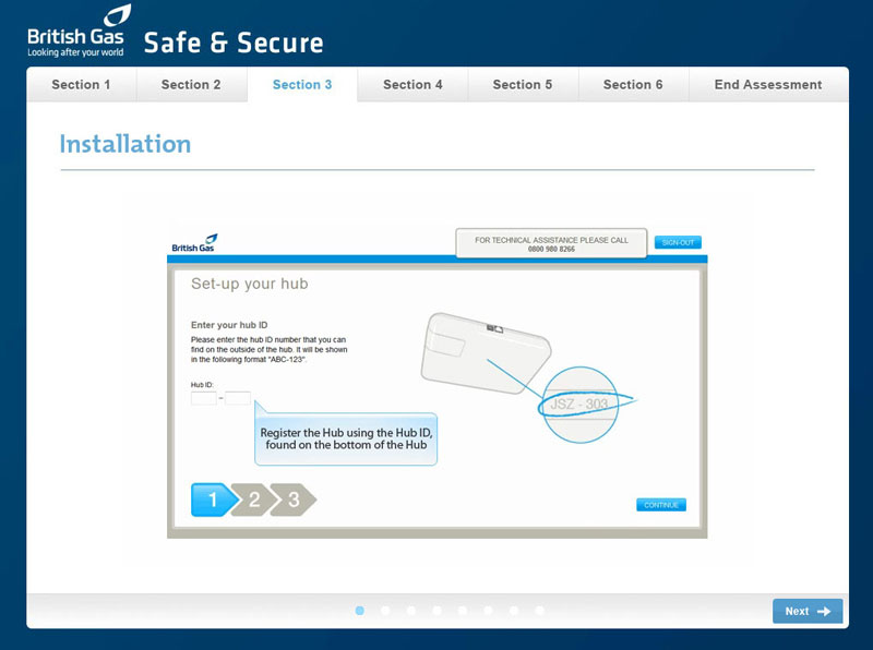 Safe & Secure - Screenshot